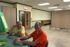 potluck-welcome-dinner-bob-hauge-and-thomas-more-chaperone